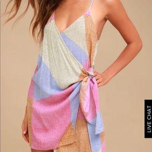 O'Neill Marlo Multi Print Wrap Dress